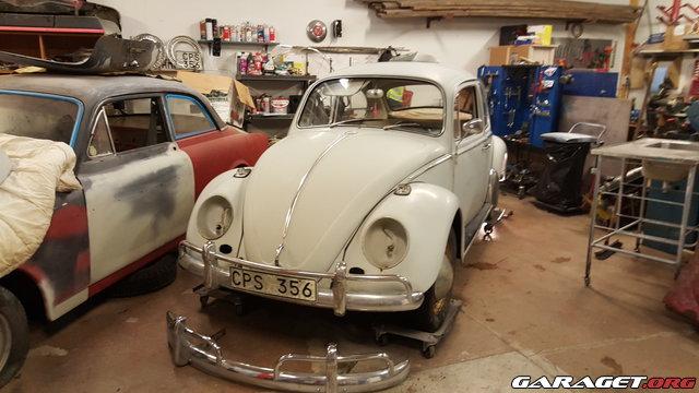 Vw bubbla typ 1 1966 s nkning omlack lite sm custom for Garage volkswagen rueil malmaison 92