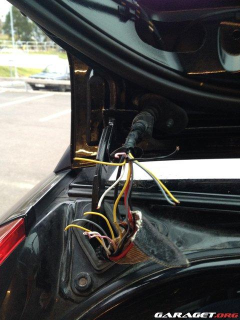 Garaget Volvo V70 Bakluckeproblem