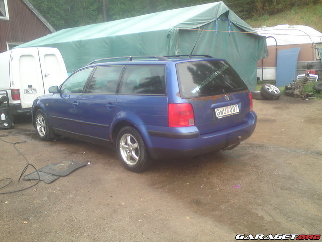 Garaget f rgkod vw passat 98 for Garage volkswagen 92