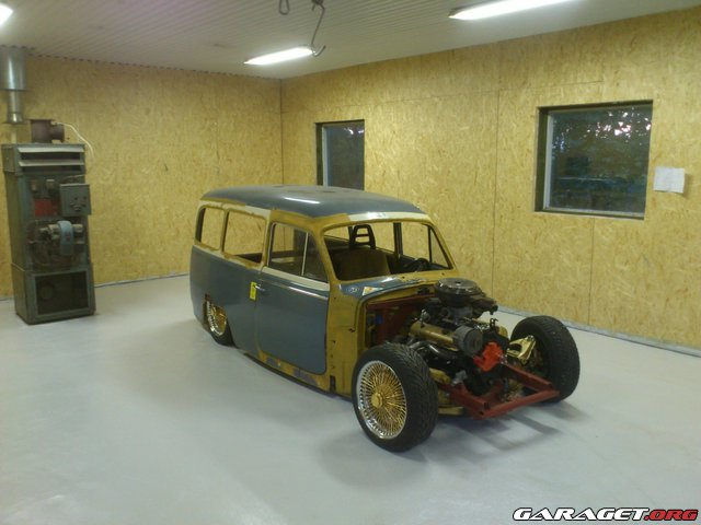 Ombyggnation Volvo Duett 64 Fr 229 N Dr K Customs Garaget