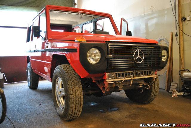 Garaget mercedes gel ndewagen renovering for Garage mercedes 93 bondy